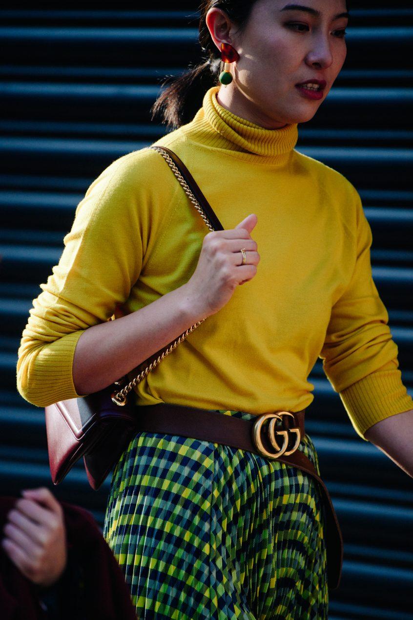 Der GG Logo-Gürtel von Gucci