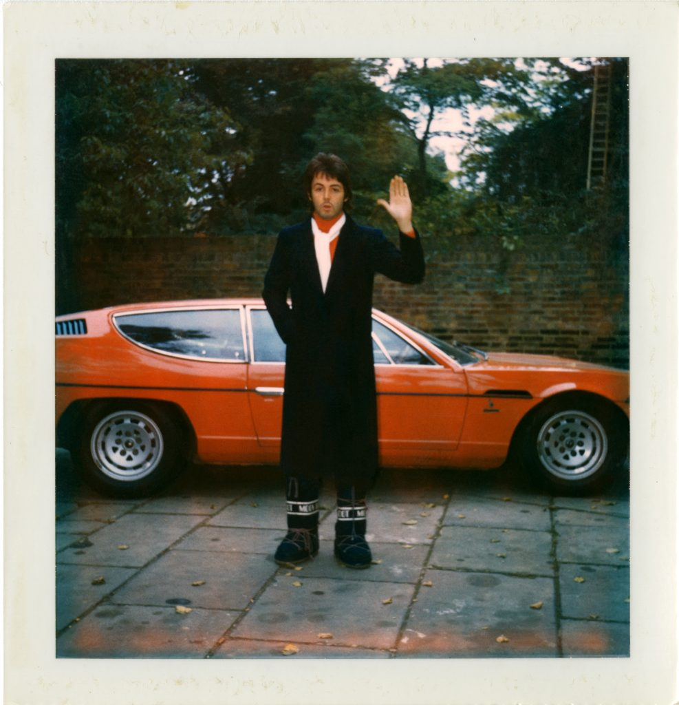 Linda McCartney . The Polaroid Diaries
